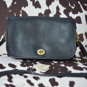 Authentic Vintage Black Coach Bag NWT
